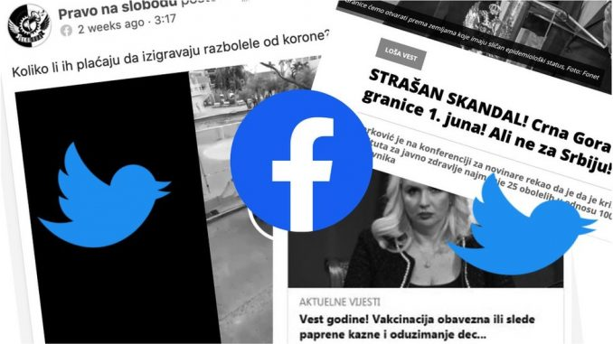 Vakcine, korona, otvaranje granica, Crna Gora, hakeri: Pregled lažnih vesti i dezinformacija u Srbiji i regionu 4