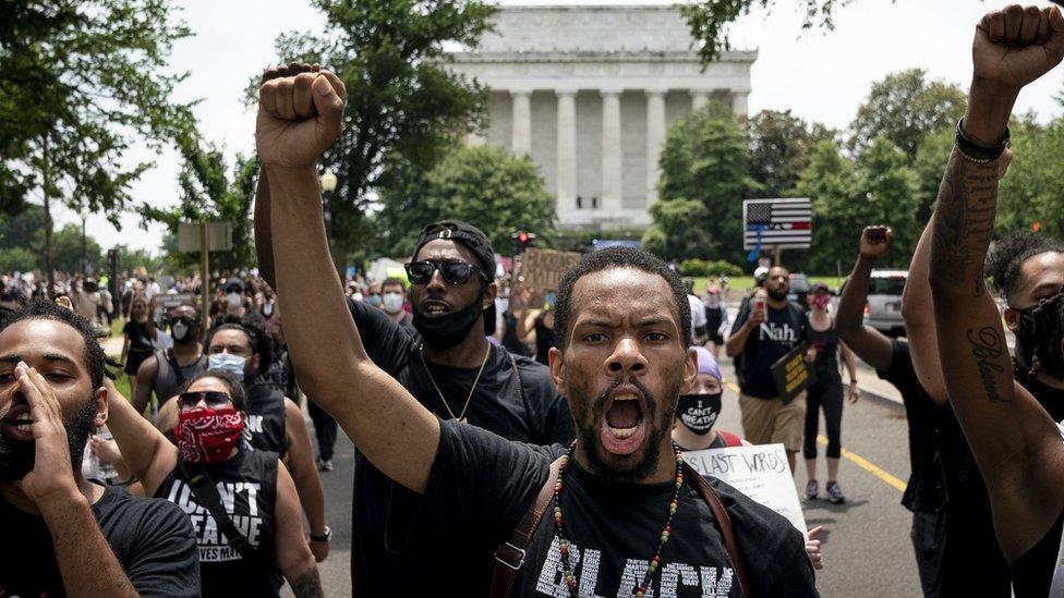 Demonstracije u Vašingtonu, 6. jun 2020.