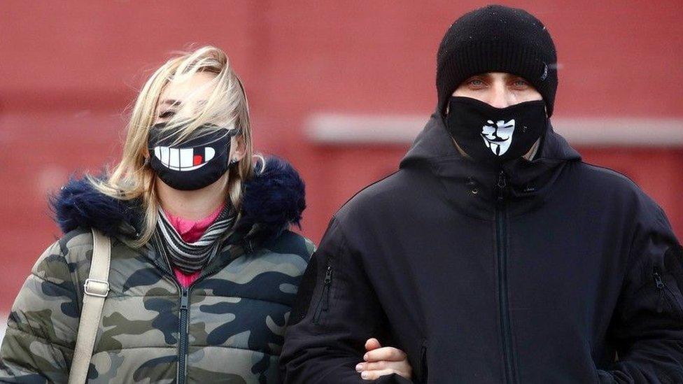 par nosi maske