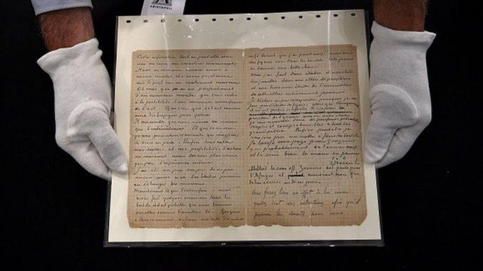 Van Gogovo i Gogenovo pismo o poseti bordelu prodato za 210.000 evra 2