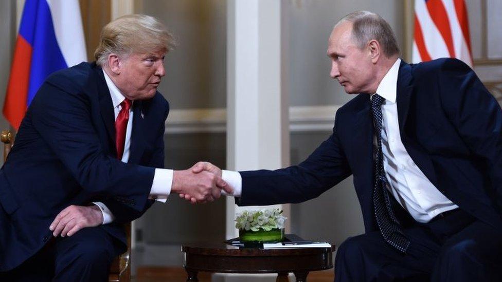 Predsednik Tramp se sastao sa ruskim predsednikom Vladimirom Putinom u Helsinkiju