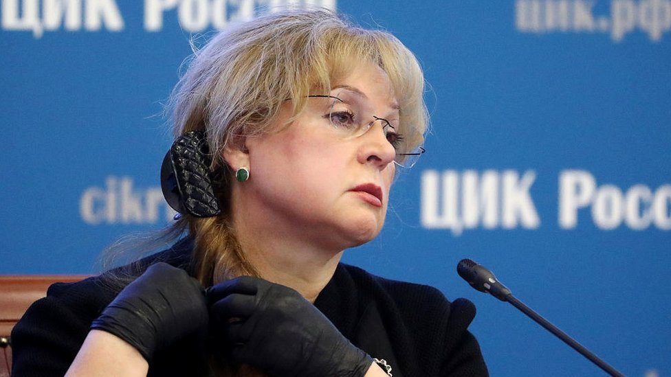 Chair of the CEC Elle Pamfilova