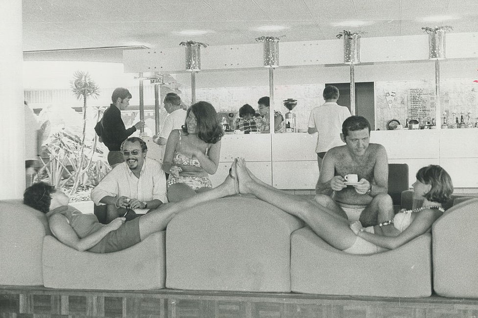 Club Med in Guadeloupe, 1969