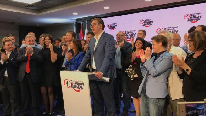 Izbori u Srbiji: Ubedljiva pobeda naprednjaka, u parlamentu još SPS, Spas i manjinske stranke 2