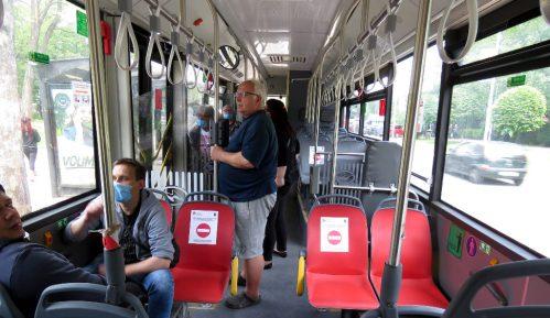 Na ulicama Beograda maksimalan broj vozila javnog prevoza (1.641) 8