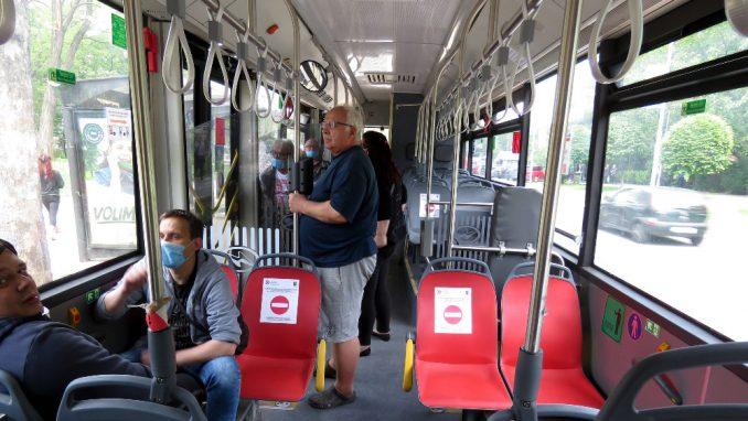 Na ulicama Beograda maksimalan broj vozila javnog prevoza (1.641) 3