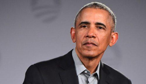 Obama prvi put uživo na skupu za izbornu kampanju Džoa Bajdena 1