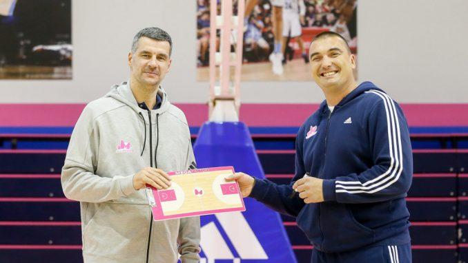 Vladimir Jovanović promovisan kao novi trener Mege 2