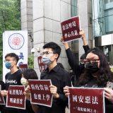 Demonstranti iz Hongkonga na Tajvanu 13