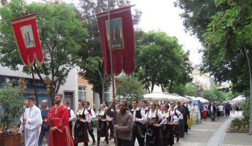Slava Grada Šapca - litija ulicama grada 6
