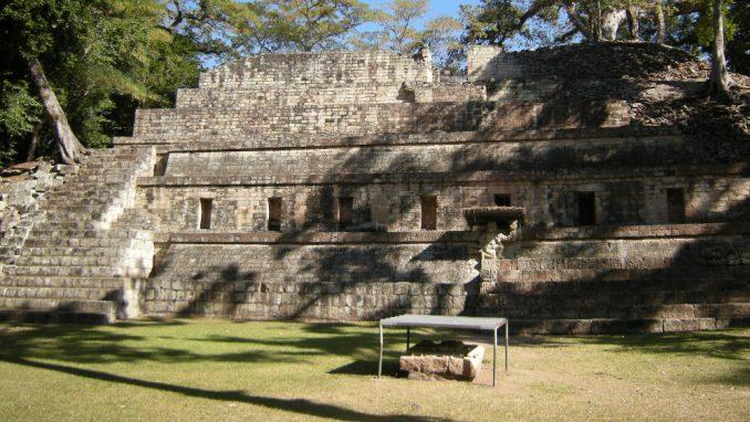 Honduras: Stele kraljeva Maja u Kopanu 4