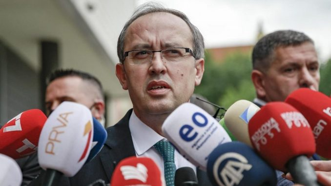 Izglasana vlada Hotija na Kosovu, Goran Rakić izabran za ministra 2