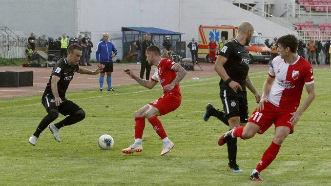 Vojvodina pobedila Partizan na penale i osvojila Kup Srbije 2