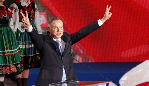 Duda i Tšaskovski nastavili kampanju odmah posle prvog kruga izbora (FOTO) 2