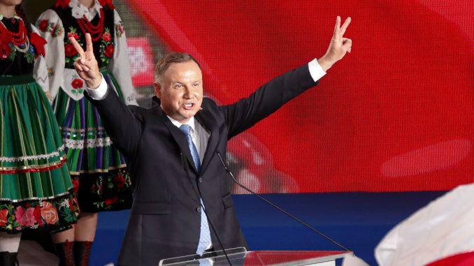 Duda i Tšaskovski nastavili kampanju odmah posle prvog kruga izbora (FOTO) 3