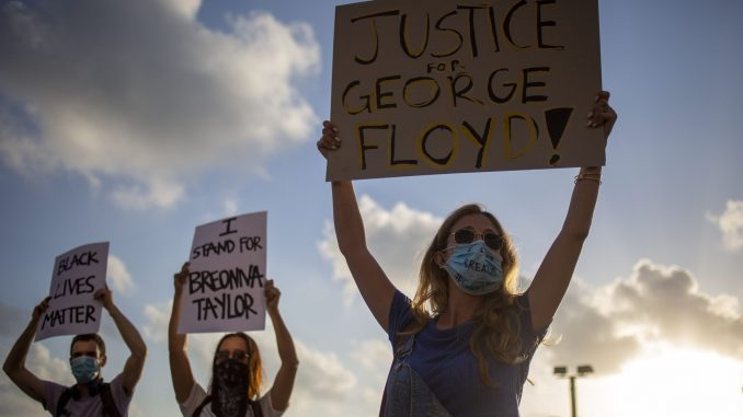 Protesti u Tel Avivu zbog ubistva Džordža Flojda 11
