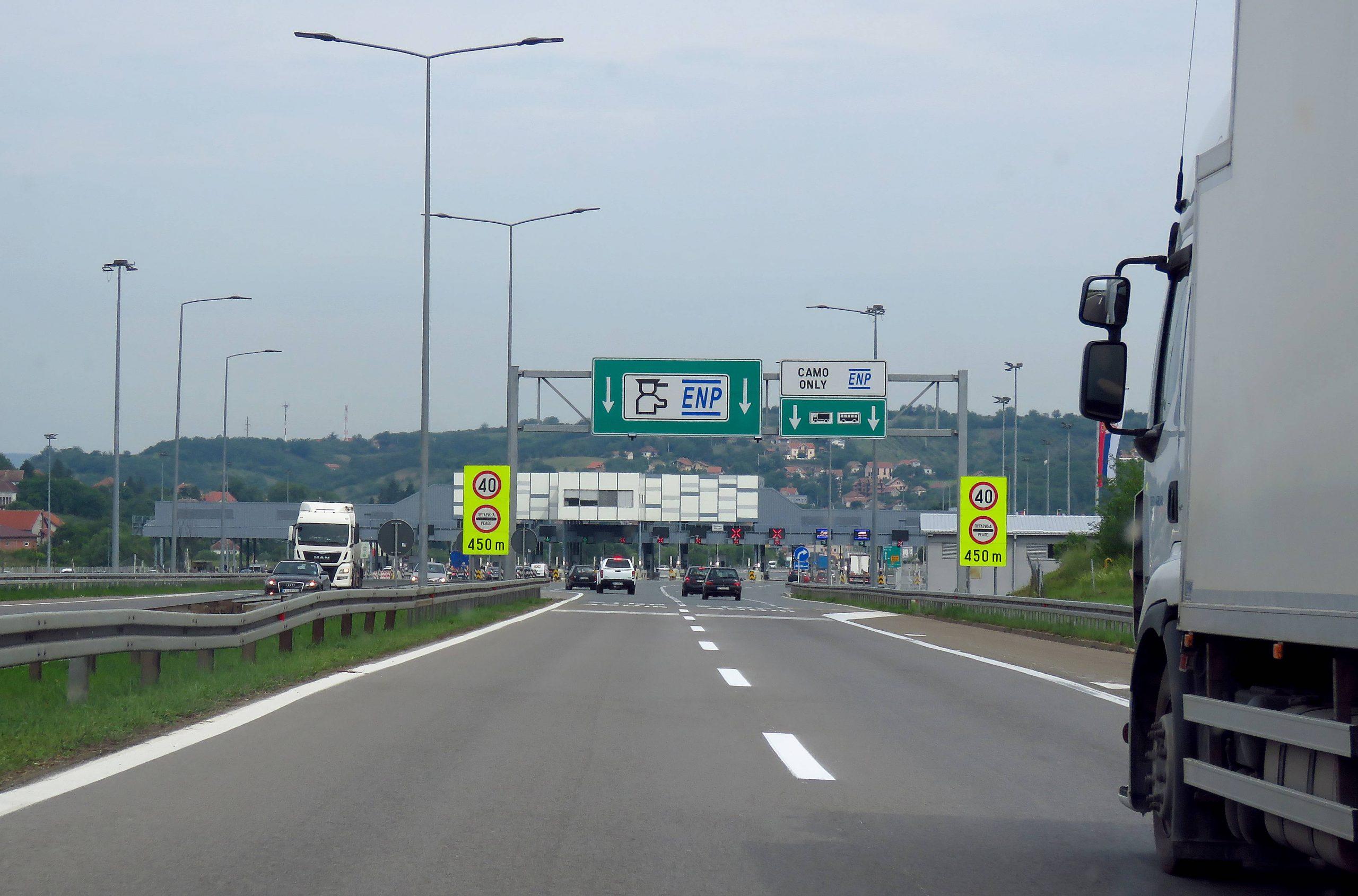 Od 15. juna besplatna putarina kroz Makedoniju, kartice će se deliti na granici 1