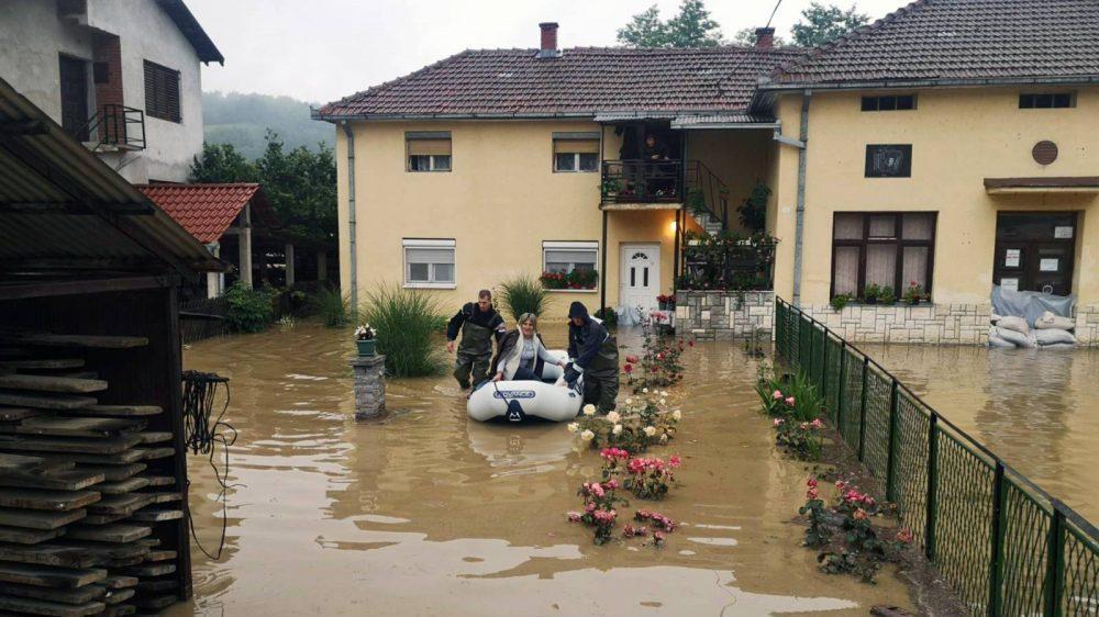 Zbog otvaranja brane mini-hidroelektrane poplavljeno selo Krepoljin 1