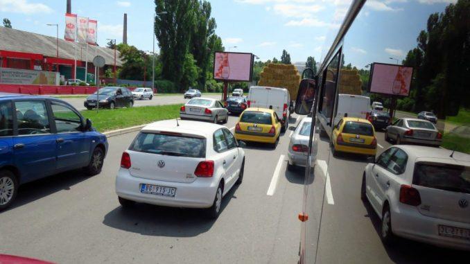 Jači intenzitet saobraćaja popodne 1