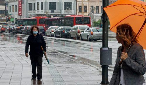 Jaka kiša poplavila veći broj ulica u Nišu 11