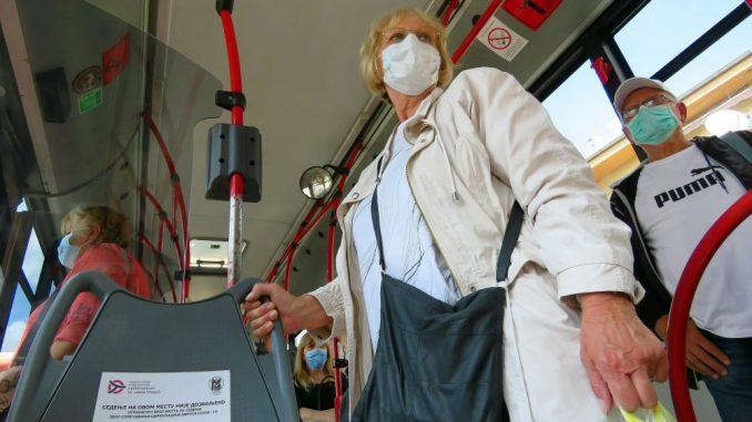Krizni štab: Obavezno nošenje maski u prevozu i zatvorenim prostorima u Beogradu 1