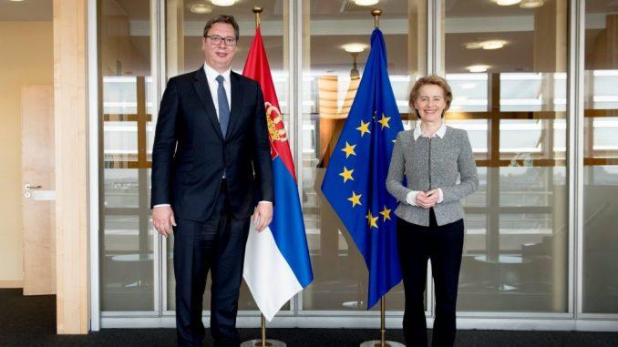 Ursula fon der Lajen i Oliver Varhelji: Dijalog sa Kosovom je ključan za evropski put Srbije 4