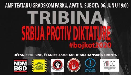 """UG """"Bez straha"""" organizuje tribinu """"Srbija protiv diktature - Bojkot"""" 6. juna u Apatinu 3"""