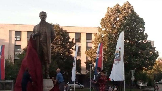 Otkriven spomenik Jevremu Obrenoviću u Šapcu (VIDEO) 3