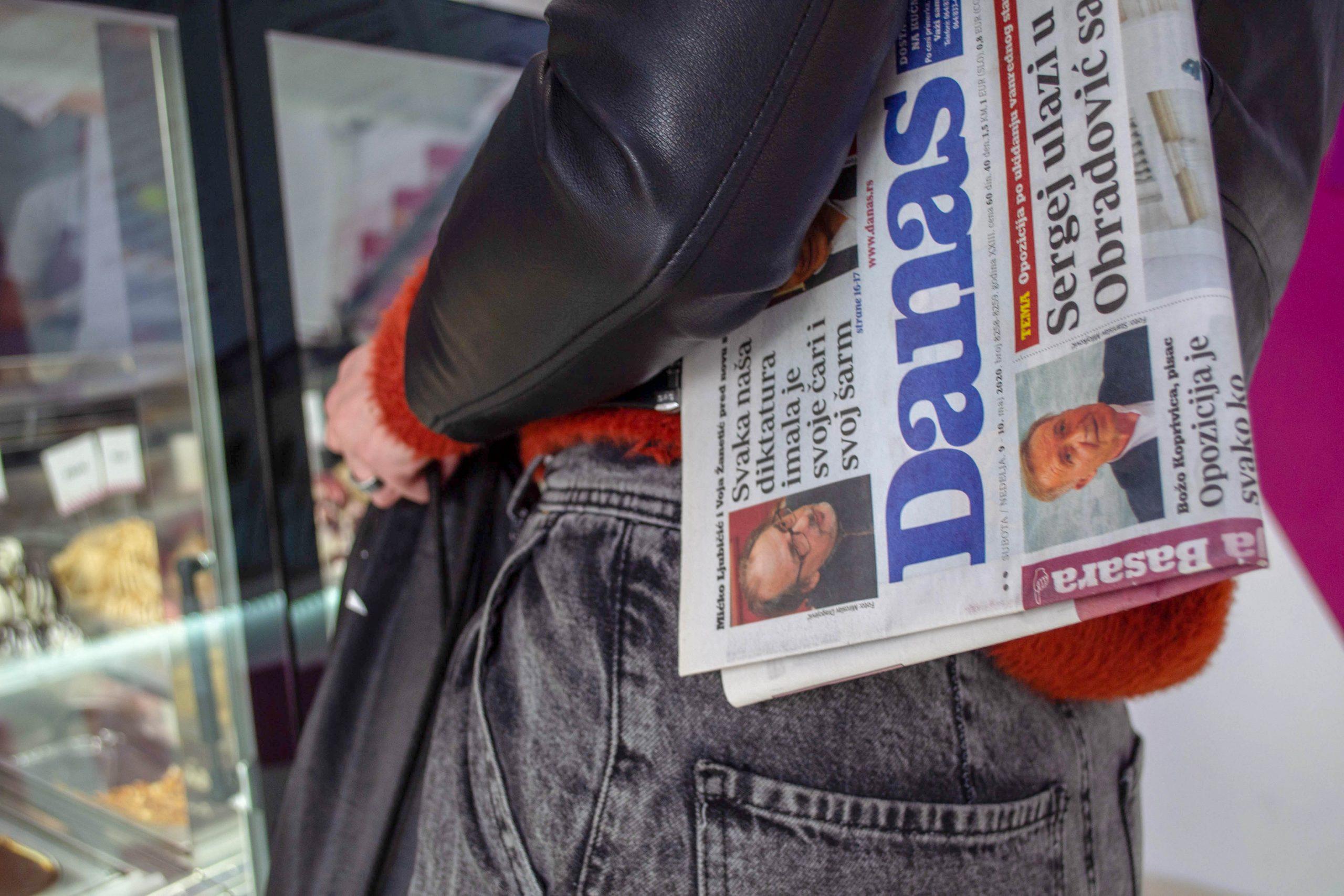 Sloga: Hajkom na dnevni list Danas ugrožavaju se ljudi koji tamo rade 1