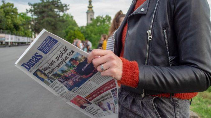 Vučić o pisanju Danasa: Ne bi prodali ni 200 primeraka da ja nisam na naslovnoj 1