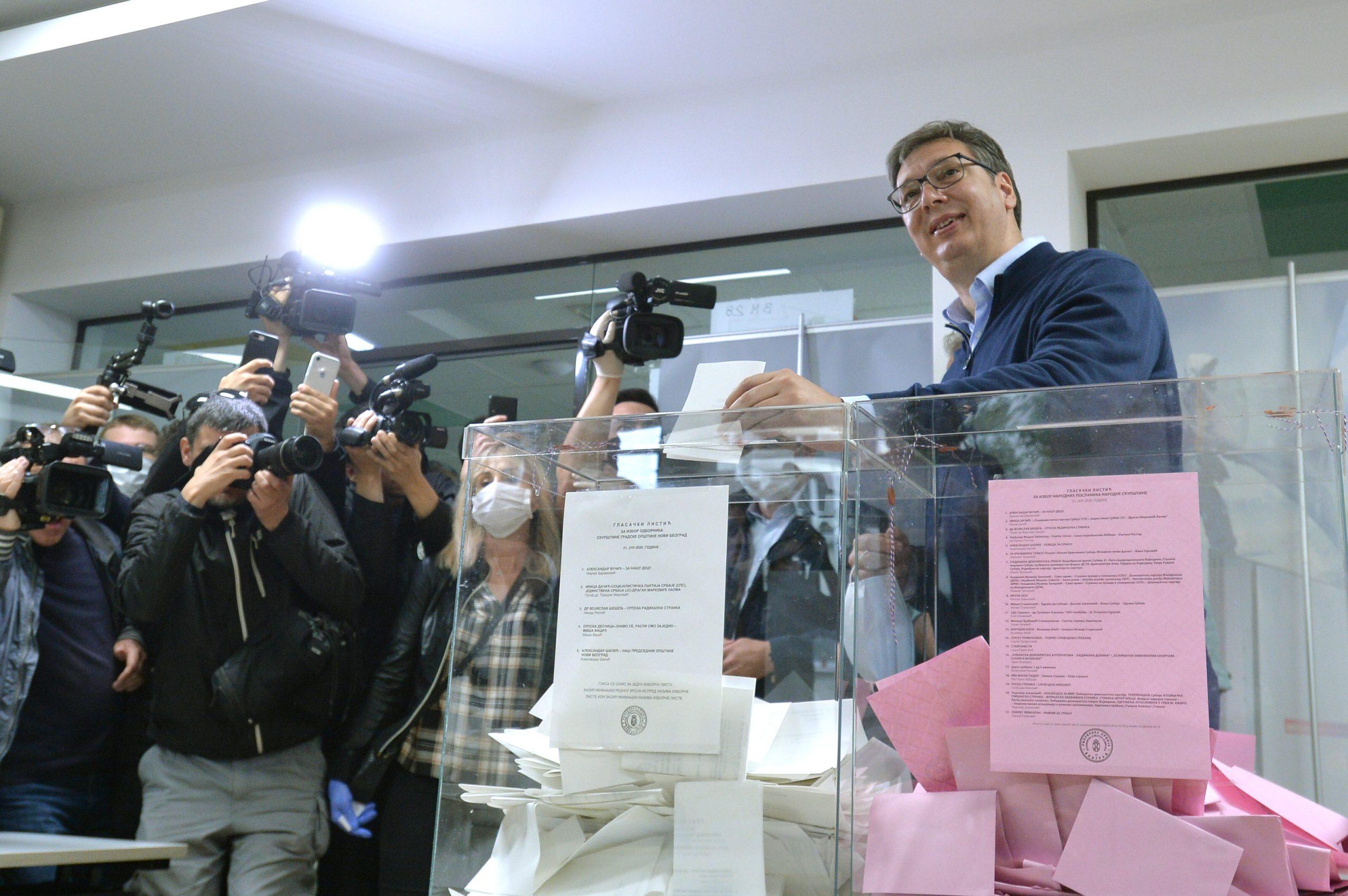 Vučić (SNS): Voleo bih da osvojimo 1,7 ili 1,8 miliona glasova 1