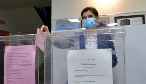 Brnabić: Nadam se da će građani potvrditi da su zadovoljni rezultatom rada SNS-a 14