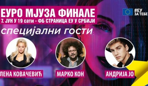 Evrovizijski hitovi u finalu konkursa Euro Mjuza 3