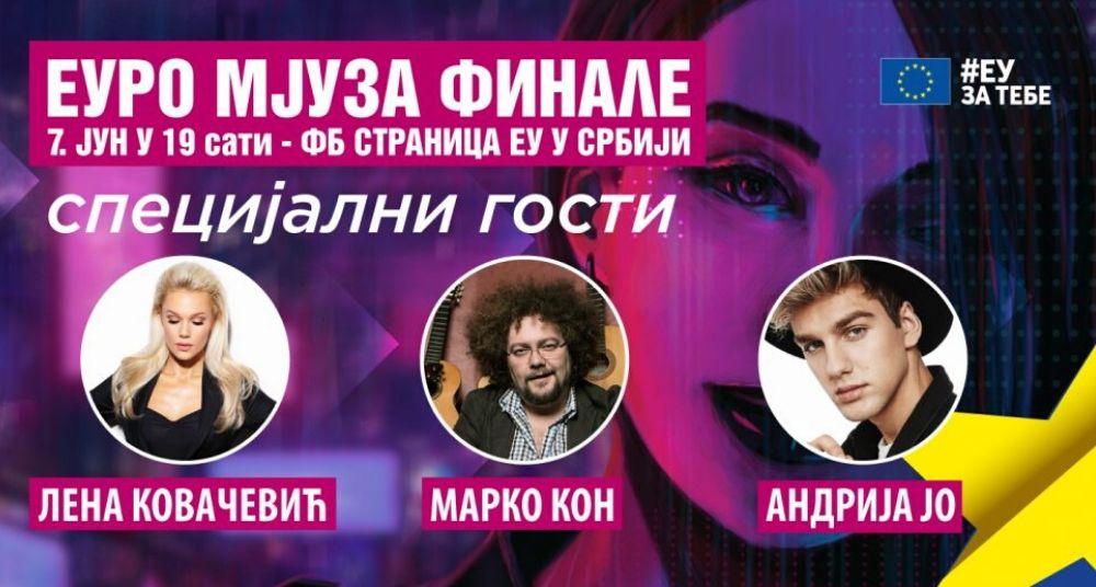 Evrovizijski hitovi u finalu konkursa Euro Mjuza 1