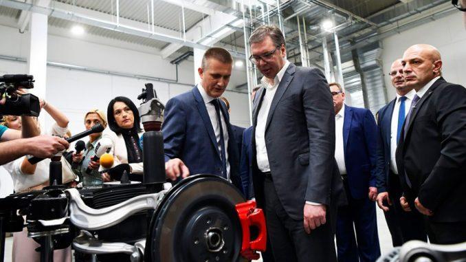 Nemačka kompanija Forverk počela proizvodnju auto-delova u Čačku 3