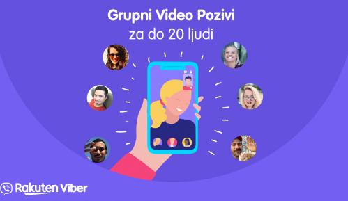 Grupni video pozivi od sada i na Viberu 6