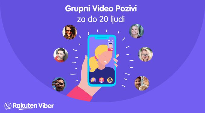 Grupni video pozivi od sada i na Viberu 3