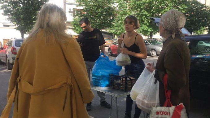 Solidarna kuhinja - spas za beskućnike tokom vanrednog stanja 1