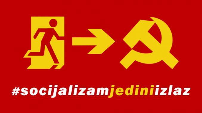 "Lista ""Socijalizam jedini izlaz"" predala potpise podrške za izbore 1"