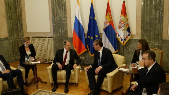 Vučić posle razgovora s Lavrovom dodatno zabrinut zbog ideja o rešenju kosovske krize 2