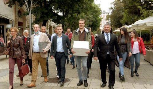 Pokret Metla 2020 predao izbornu listu u Šapcu 15