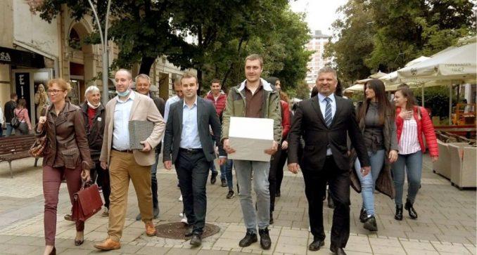 Pokret Metla 2020 predao izbornu listu u Šapcu 3