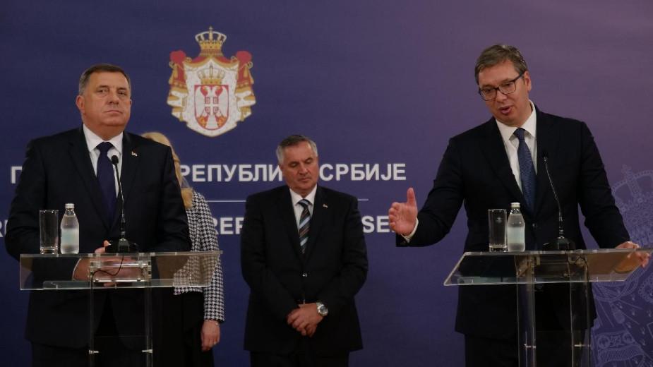 Vučić: Raspored sastanaka nije lak, Srbija želi mir - ali čuvaće svoje interese 1
