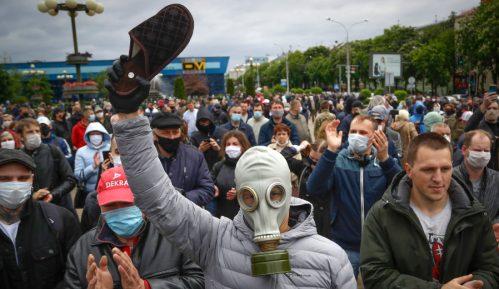 Beloruski opozicioni lider uhapšen zbog učešća na protestu 6