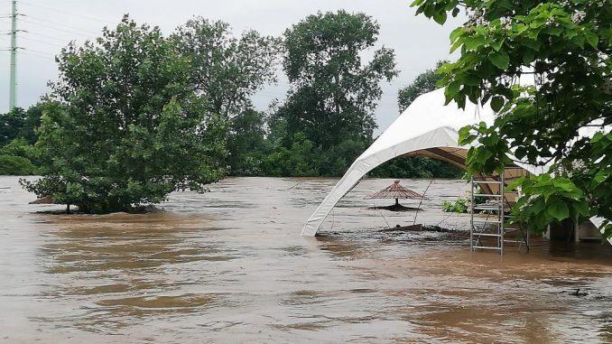 U Žitorađi vanredna situacija zbog poplave, spašena žena iz poplavljene kuće 5