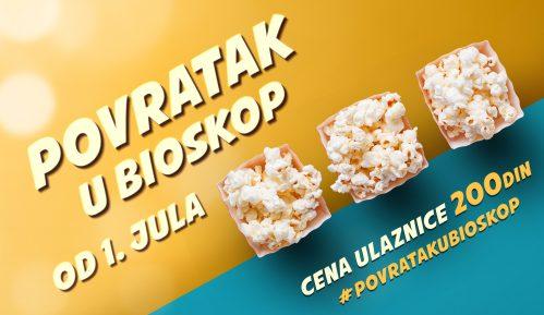 """Velika akcija """"Povratak u bioskop"""" počinje 1. jula 4"""