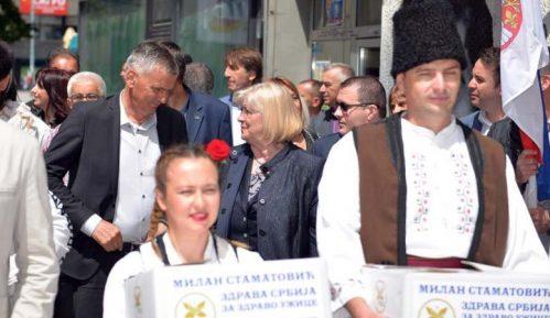 """Predstavnici """"Zdrave Srbije"""" ponovo predali listu za lokalne izbore u Užicu 12"""