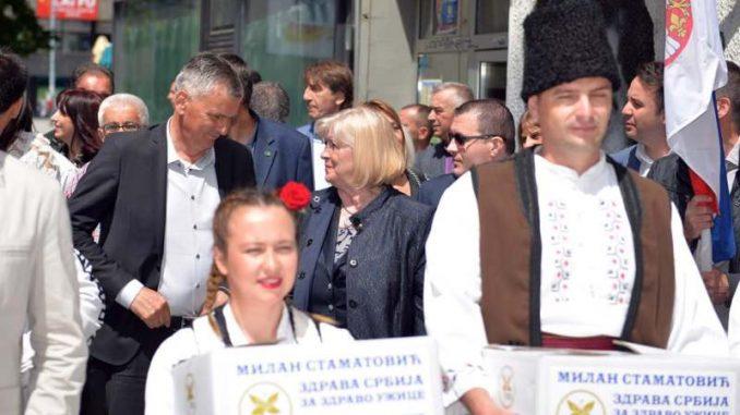 """Predstavnici """"Zdrave Srbije"""" ponovo predali listu za lokalne izbore u Užicu 2"""