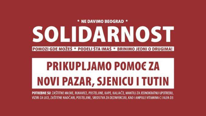 Inicijativa Ne davimo Beograd prikuplja pomoć za Novi Pazar, Sjenicu i Tutin 4