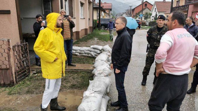 Stefanović: U Ljuboviji nema ugroženih poplavama, prijava štete od četvrtka 2